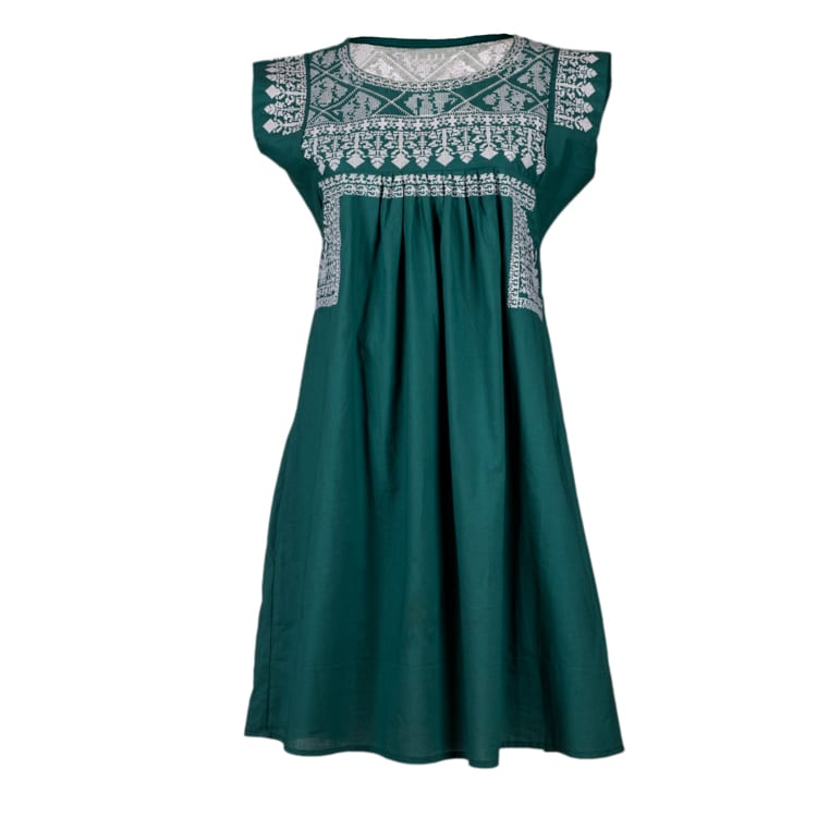 Nomadic Gypsy Teal White