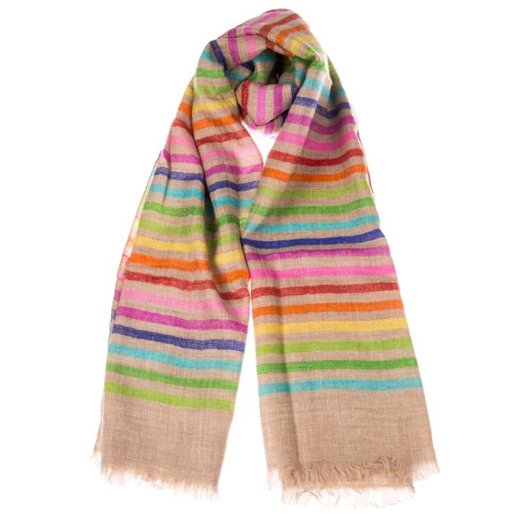 Autumn Rainbow Shawl