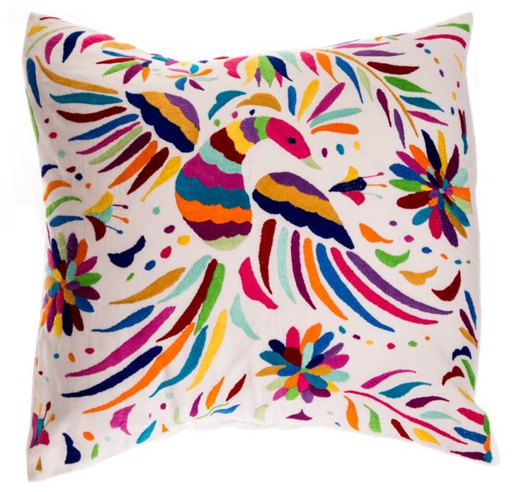 Otomi Rainbow Cushion