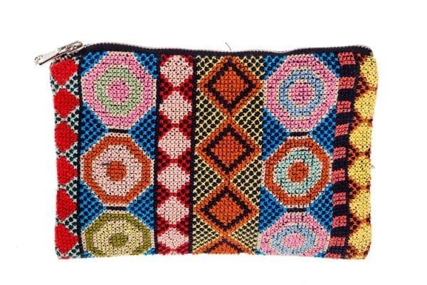 Syrian fair trade embroidered purse