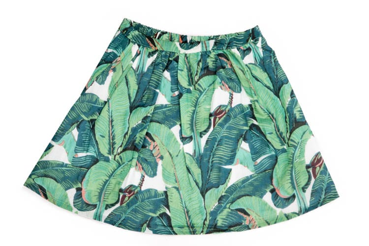 Rain Forest Skirt for Girls